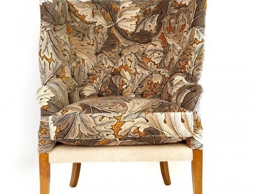 High Back Deep Buttoned Chair